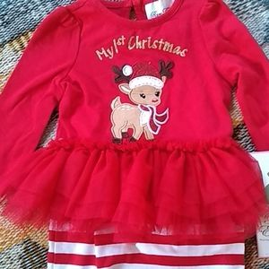 NWT 1st Christmas outfit